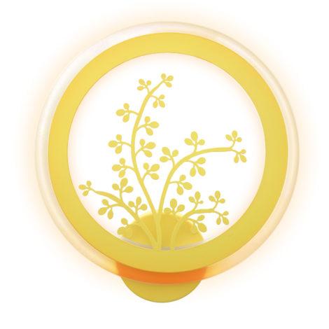 Aplique-de-Pared-Infantil-Yellow-Plant-32W