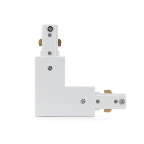 Conector-en-L-Para-Carril-Bifásico-Blanco