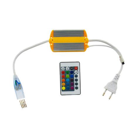 Controlador-LED-RGB-220V-con-mando