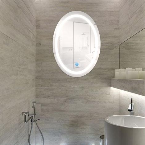 Espejo-para-Baño-LED-15W-Ovalado