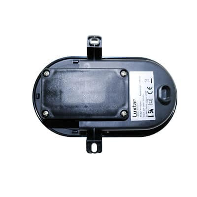 Plafon-LED-Luxtar-Oval-Black-10W-IP542