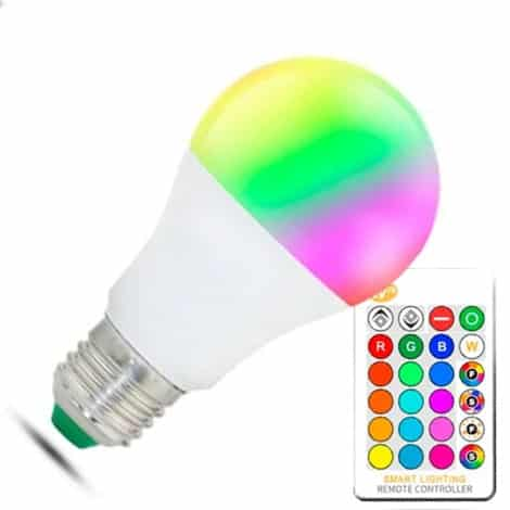 Bombilla LED A60 RGBW E27