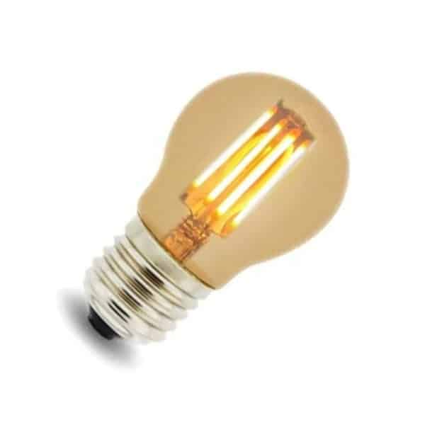 Bombilla LED G45 4W filamento