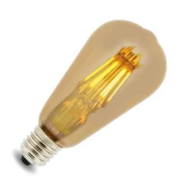 Bombilla LED ST64 E27 filamento