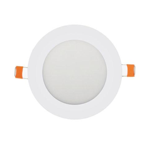 Panel LED redondo blanco 12W