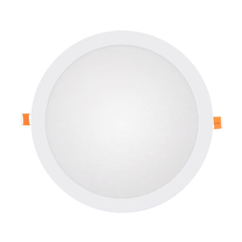 Panel LED redondo blanco 20W