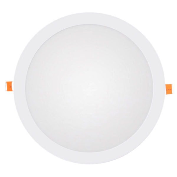 Panel LED downlight redondo 25W