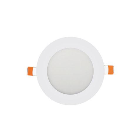 Panel LED redondo blanco 6W