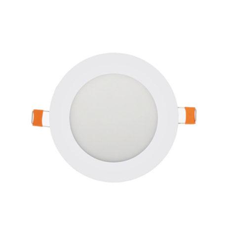 Panel LED redondo blanco 9W