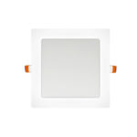 Panel LED cuadrado blanco 12W
