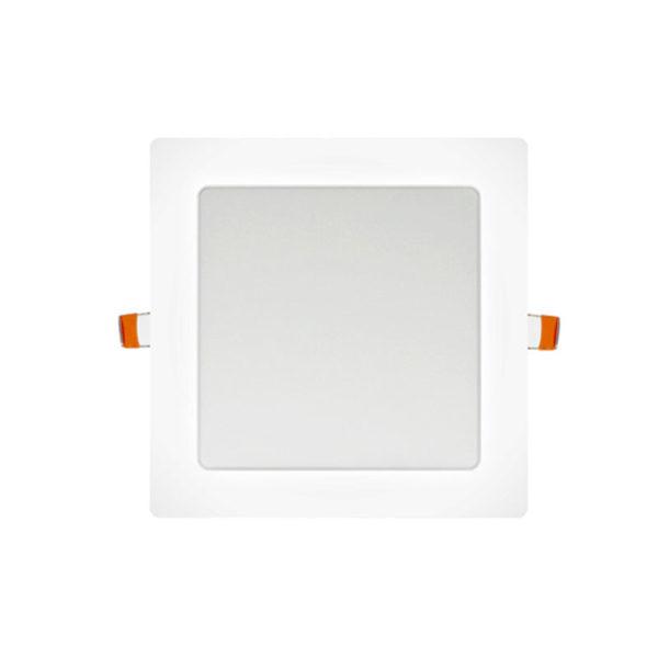 Panel LED cuadrado blanco 12W