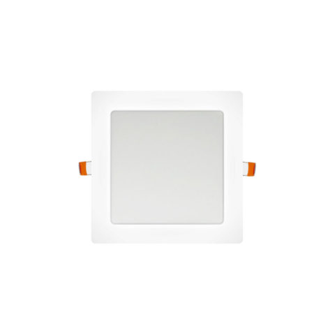 Panel LED cuadrado 6W blanco
