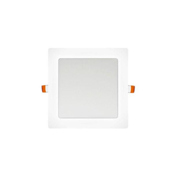 Panel LED cuadrado 6W blanco