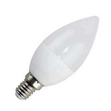 Bombilla LED C37 Vela 6W E14