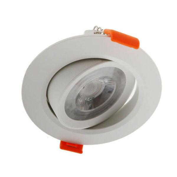 Foco LED COB barato 7W redondo blanco mon