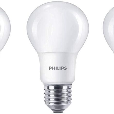 Pack 3 bombillas LED Philips 8W