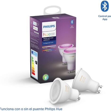 HUE Philips baratas pack 2 bombillas