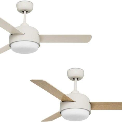 Ventilador techo LEDs C4 Klar