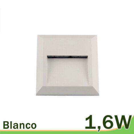 Aplique blanco LED 1,6W pared exterior