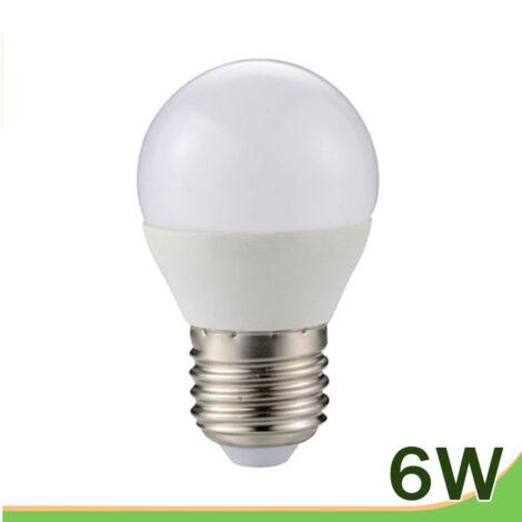 Bombilla LED 6W E27 G45
