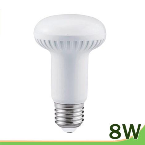 bombilla led 8w e27 reflectora r63