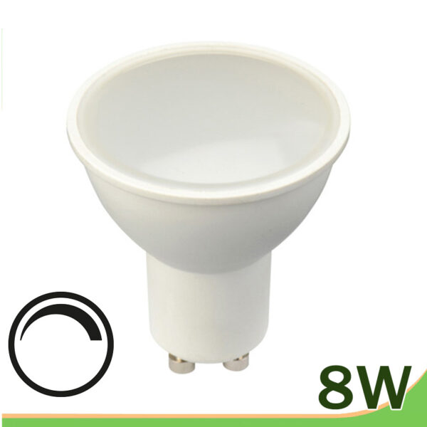 Bombilla led 8w regulable gu10