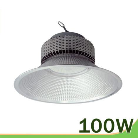 Campana silver LED 100W colgante