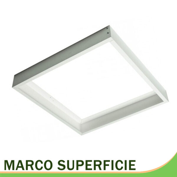Marco superficie paneles placas 60x60