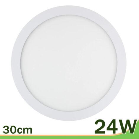 Panel led redondo downlight 24W blanco