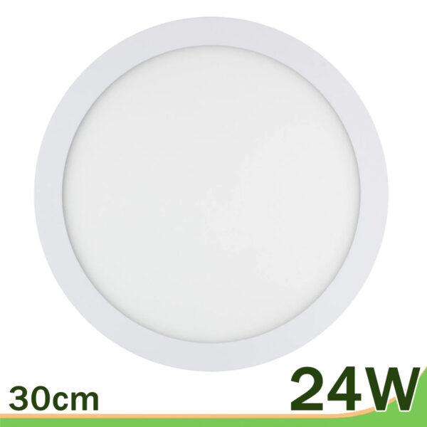 Panel led redondo downlight 24W blanco