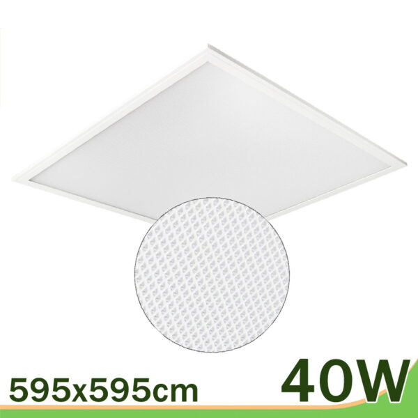 Panel placa 40W techo 60x60