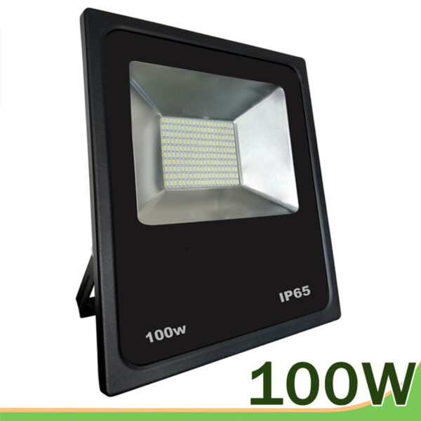 Proyector led 100w SMD negro