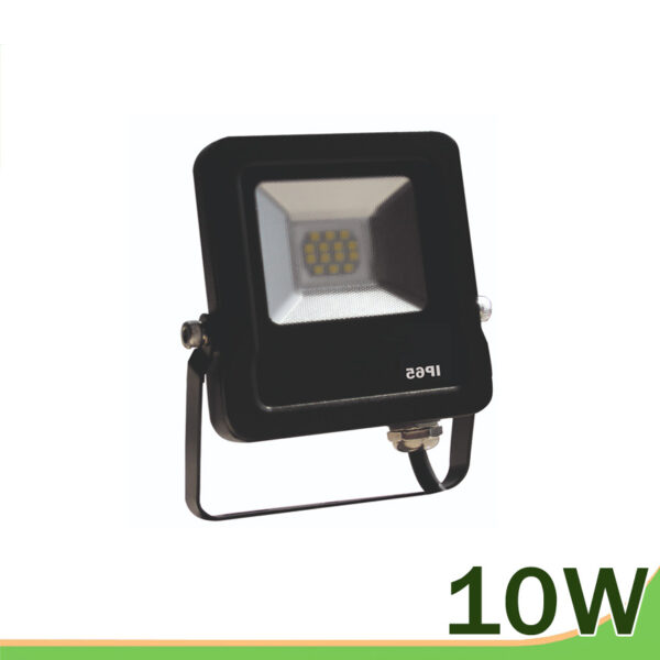 Proyector led 10w negro smd