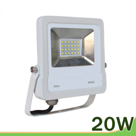 Proyector LED 20w blanco smd