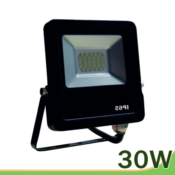 proyector led 30w negro smd